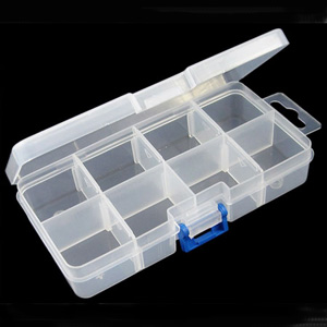 S261 - bead organiser/storage container with 8 compartments