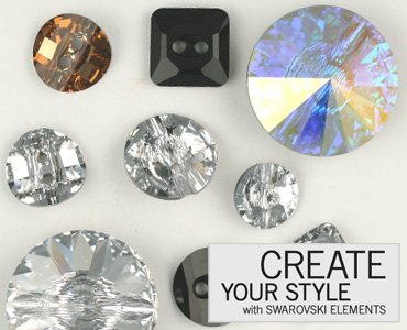 Category Swarovski Crystal Buttons