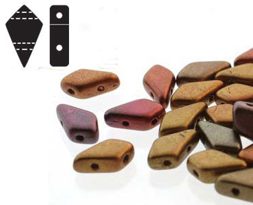 Category 2-hole Kite Beads