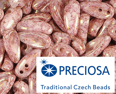 Category 2-hole Czech Chilli Beads