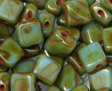 Category 2-hole Czech Silky Beads