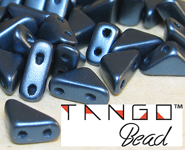 Category 2-hole Czech Tango Beads