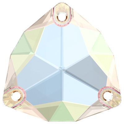 3272 28mm CEL Swarovski trilliant sew-on stone - crystal colour effects