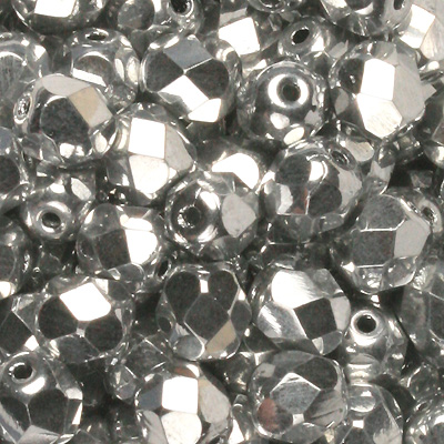 GB9 FC 211 Czech fire-polished beads - crystal full labrador