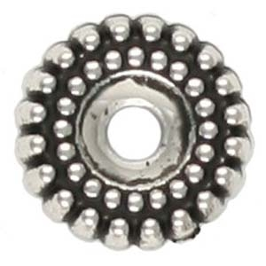 PMB63-2 spacer antique silver