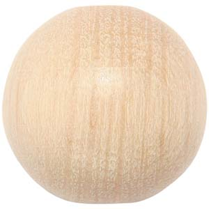 WB1 round wooden bead