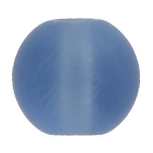 GB242F round pressed frosted glass beads