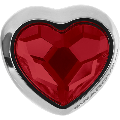 81951 227 - BeCharmed Heart Bead Light Siam