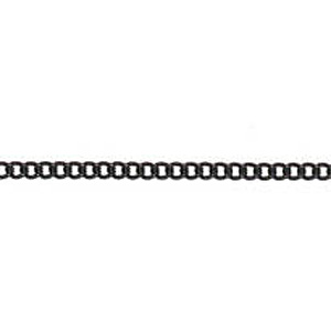 JF46-6 - cable chain necklets - black