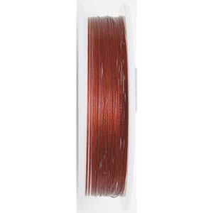 BJW07-0.46 RED - Beadalon wire: 7 strands - red
