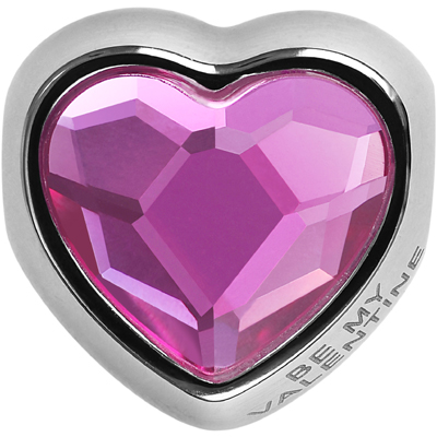 82081 502 - BeCharmed Heart Bead Valentines Edition - Fuchsia