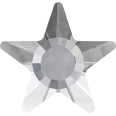 2817 5mm 001 HF - Swarovski hotfix star - crystal