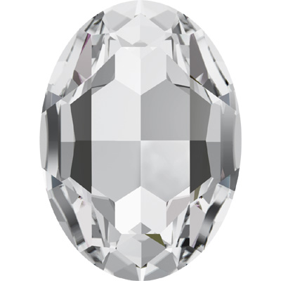 4127 39x28mm 001 - Swarovski oval fancy stone - crystal