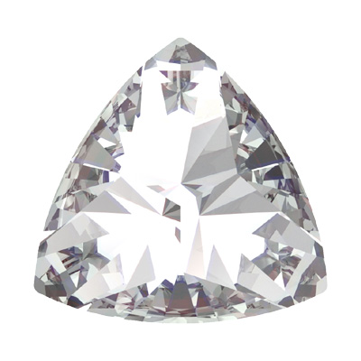4799 14x14.3mm 001 - Swarovski kaleidoscope triangle fancy stone - crystal