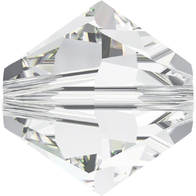 5328 5mm 001 - Swarovski 5mm xilion bicones - crystal