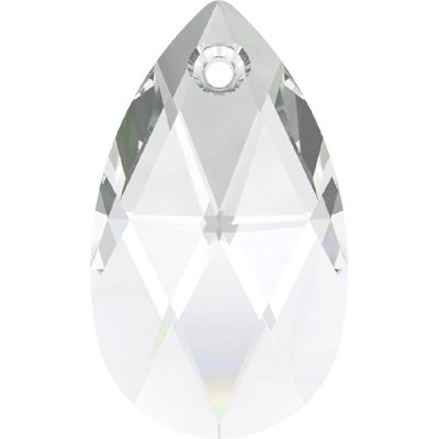 6106 22mm 001 - Swarovski pear shape pendant - crystal