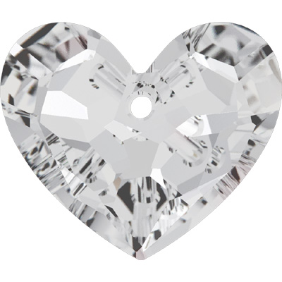 6264 28mm 001 - Swarovski truly in love heart - crystal