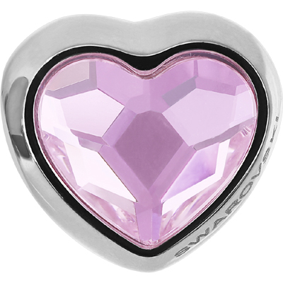 81951 508 - BeCharmed Heart Bead Rosaline