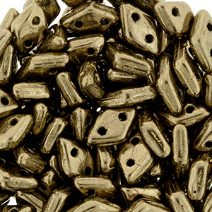 CMDI-400 - CzechMates Diamond Beads - bronze
