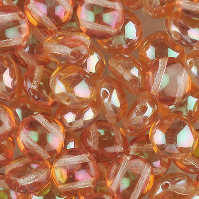 GBCDY08-31 - Czech Candy Beads - crystal apricot
