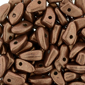 GBPR-619 - Prong beads - Saturated Metallic Potters Clay