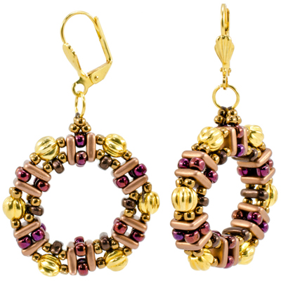 CMP1-HONEY - Honeycomb Earrings Pattern