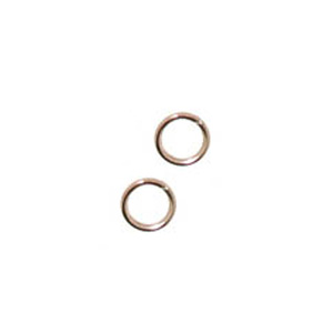 JF15-7 - 7mm jump rings - rose gold