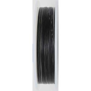 BJW07-0.3 BLK - Beadalon wire: 7 strands - black