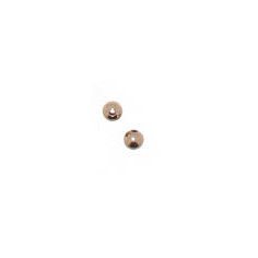 M12-7 - brass bead - rose gold