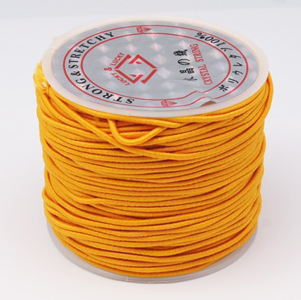 NBC-1 GLD - Nylon bead cord - gold