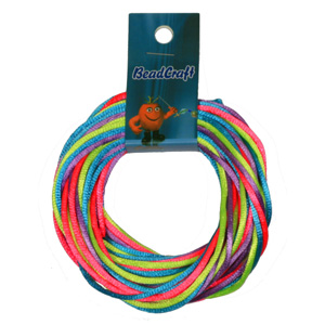 NBC-2-M11 - Nylon bead cord - bright mix