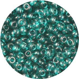 SB10-133 - Preciosa Czech seed beads - transparent blue zircon