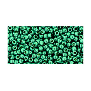 SB11JT-PF569 - Toho size 11 seed beads - permanent finish galvanized teal