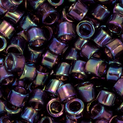 SB11JTT-166C - Toho Treasures beads - transparent amethyst rainbow
