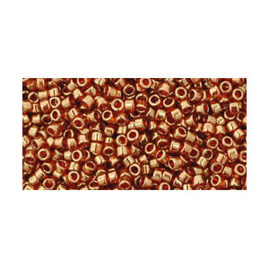 SB11JTT-329 - Toho Treasures beads - gold-lustred African sunset