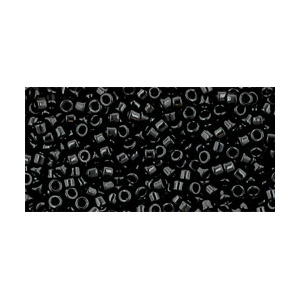 SB11JTT-49 - Toho Treasures beads - opaque jet