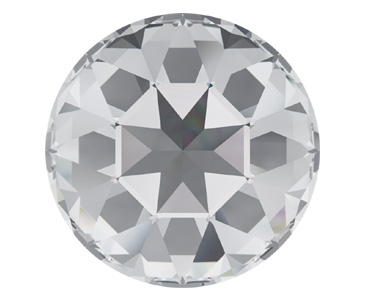 Category 1201 Swarovski Pointed Back Round Stones