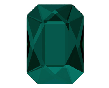 Category 2602 Swarovski Emerald Cut Flat Backs - No Hotfix
