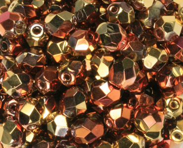 Category 8mm Czech Fire-polished Beads