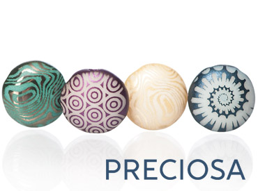 Category Czech Candy Beads with Laser Decor from Preciosa - 8mm