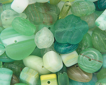 Category Czech Pressed Glass Beads Mixes