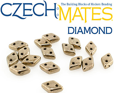 Category CzechMates Diamond Beads