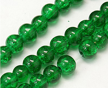 Category 8mm Chinese Glass Crackle Beads