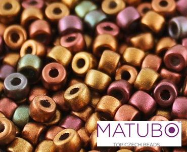 Category Matubo Czech 6/0 Pressed Seed Beads