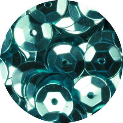 CS6 MET 11 cup sequins - metallic green turquoise