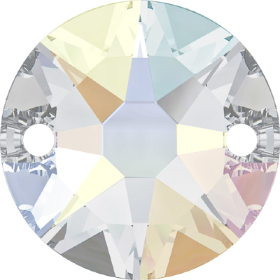 3288 8mm CET - Swarovski  XIRIUS round sew-on stone - crystal transparent colours
