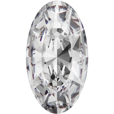 4162 18x9.5mm 001 Swarovski Elongated oval Fancy stone - crystal