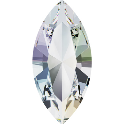 4228 15x7mm CET - Swarovski XILION navette fancy stone - crystal transparent effects
