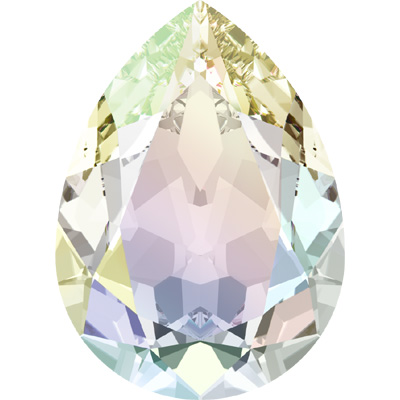 4320 8x6mm CET - Swarovski pear fancy stone - crystal transparent effects