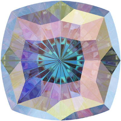 4460 8mm CET - Swarovski Mystic Square Fancy stone - Crystal Transparent Effects